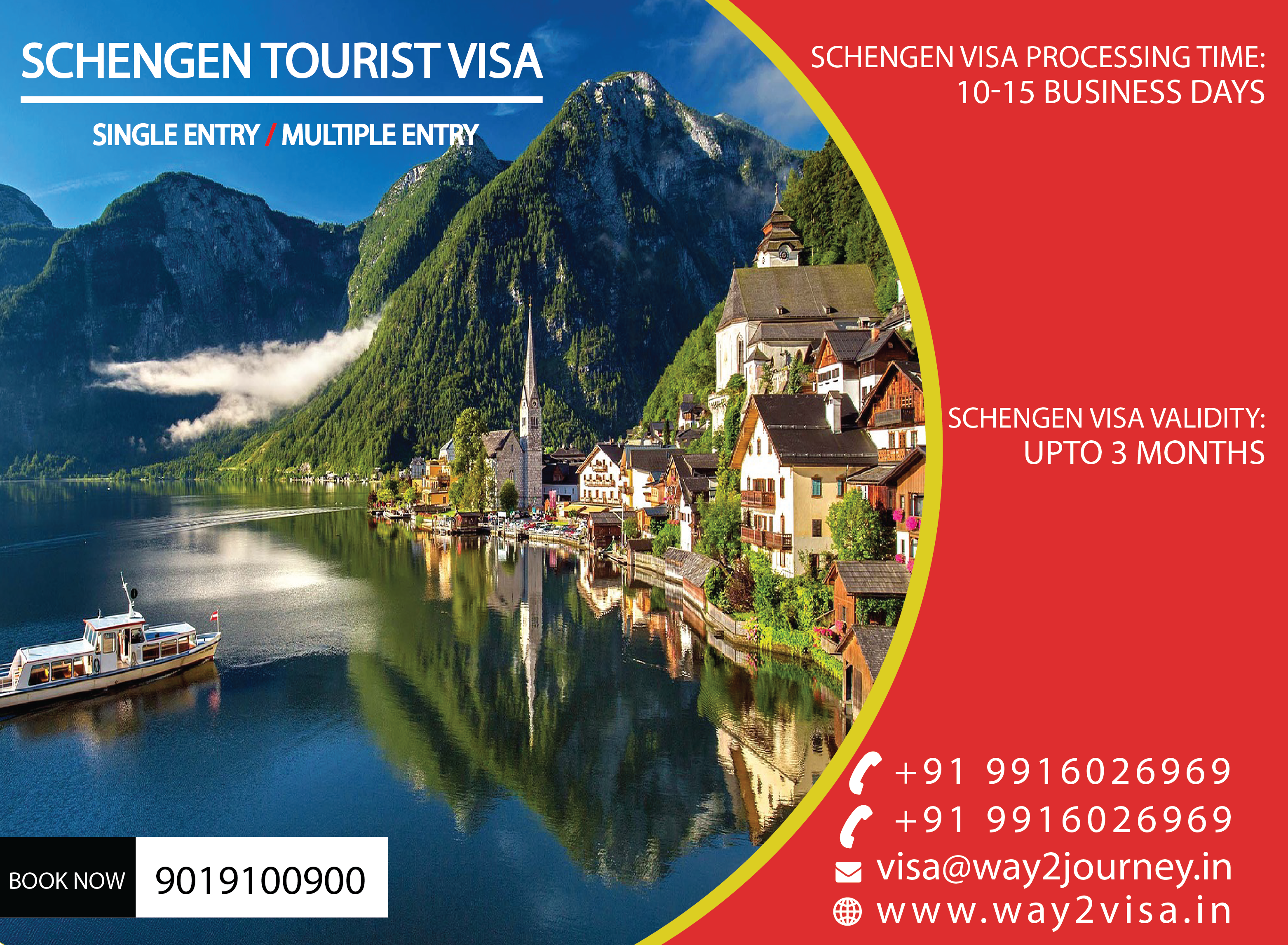 SCHENGEN Business Visit Visa / tourist, Visit Visa agency in bangalore, mumbai, india