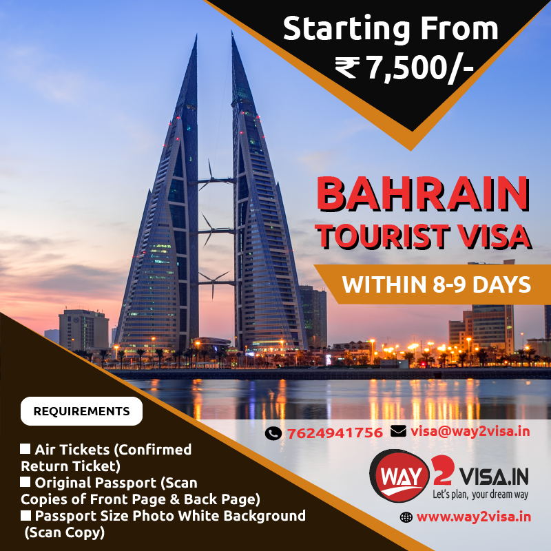 Bahrain Tourist Visa Assistance in Bangalore, India | Bahrain Visa for Indians