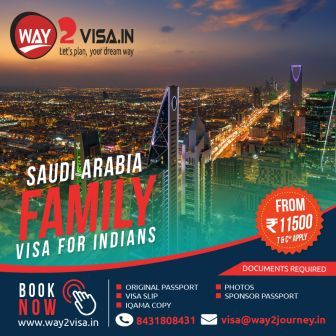 Saudi Arabia Family Visit Visa from Bangalore, India | Saudi Visa for Indians